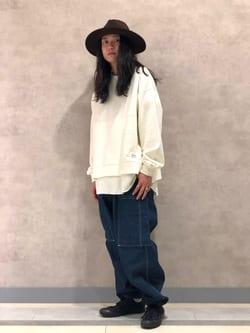 Lee 名古屋店のTakayaさんのLeeのレイヤード スウェットを使ったコーディネート