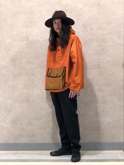 Lee 名古屋店のTakayaさんのLeeのミリタリー パーカージャケットを使ったコーディネート