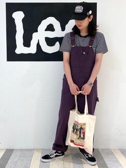Lee 名古屋店のTakayaさんのLeeの終了ワークミリタリー オーバーオールを使ったコーディネート