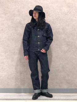 Lee 名古屋店のTakayaさんのLeeの【Archives】WWII 大戦モデル101 COWBOY PANTSを使ったコーディネート