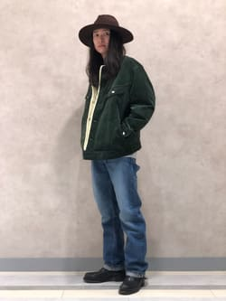 Lee 名古屋店のTakayaさんのLeeのボアジャケットを使ったコーディネート