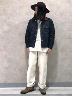 Lee 名古屋店のTakayaさんのLeeのストームライダー ジャケットを使ったコーディネート