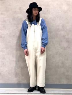 Lee 名古屋店のTakayaさんのLeeのワンポイントロゴ刺繍ポケット付きTシャツ/長袖を使ったコーディネート