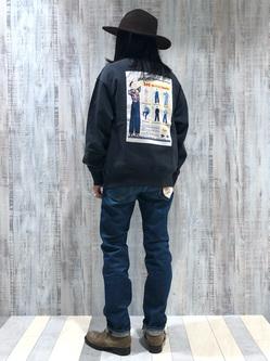 Lee 名古屋店のTakayaさんのLeeの【Pre sale】AMERICAN RIDERS 101Z ストレートジーンズを使ったコーディネート