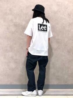Lee 名古屋店のTakayaさんのLeeの【予約】【Lee×GRAMICCI(グラミチ)】ルーズフィット ペインターパンツを使ったコーディネート