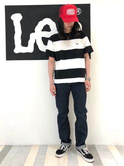 Lee 名古屋店のTakayaさんのLeeのAMERICAN RIDERS 101Z ストレートジーンズを使ったコーディネート