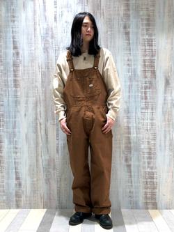 Lee 名古屋店のTakayaさんのLeeのワンポイントロゴ刺繍スウェット/トレーナー【ユニセックス】を使ったコーディネート