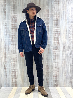 名古屋店のTakayaさんのLeeのBOA STORM RIDER ジャケット【デニム】を使ったコーディネート