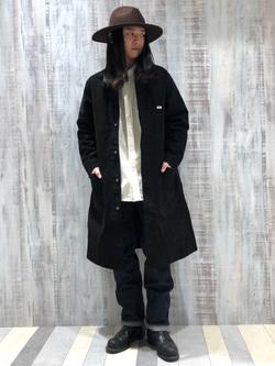 Lee 名古屋店のTakayaさんのLeeの【直営店・WEB限定】ビッグポケット シャツジャケットを使ったコーディネート