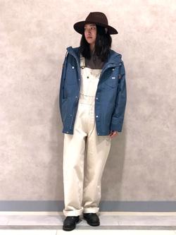 Lee 名古屋店のTakayaさんのLeeのマウンテンパーカー/ジャケットを使ったコーディネート