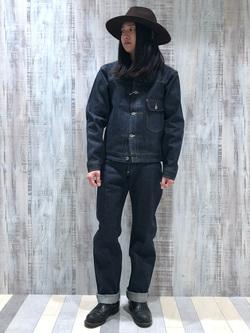Lee 名古屋店のTakayaさんのLeeの【先行予約】【Archives】WWII 大戦モデル101 COWBOY PANTSを使ったコーディネート