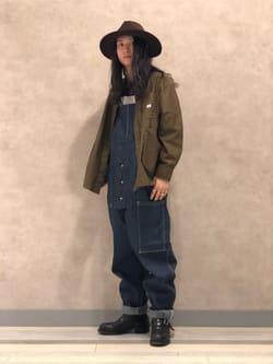 Lee 名古屋店のTakayaさんのLeeのビッグポケット シャツジャケットを使ったコーディネート