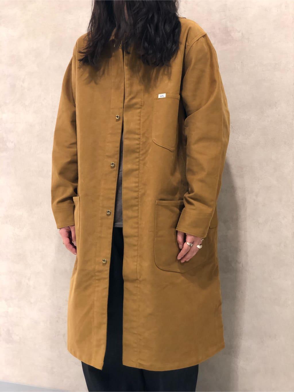 Lee 名古屋店のTakayaさんのLeeの【試着対象】SUPERSIZED ストレートデニムパンツを使ったコーディネート