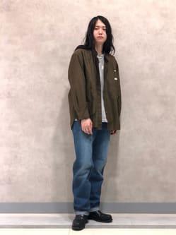 Lee 名古屋店のTakayaさんのLeeの【Archives】WWII 大戦モデル101 COWBOY PANTS USED加工を使ったコーディネート