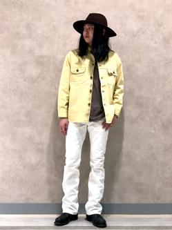 Lee 名古屋店のTakayaさんのLeeの【セットアップ対応】シャツジャケットを使ったコーディネート