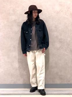 Lee 名古屋店のTakayaさんのLeeのBLACK RIDERS デニムジャケットを使ったコーディネート
