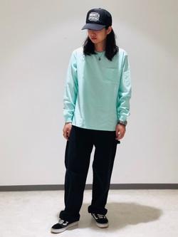Lee 名古屋店のTakayaさんのLeeの終了【サマーセール】ポケット付きTシャツ 長袖を使ったコーディネート