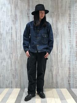 Lee 名古屋店のTakayaさんのLeeの【再値下げ Winter sale】101 PROJECT STORM COWBOY JACKETを使ったコーディネート