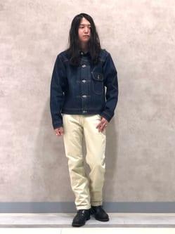 Lee 名古屋店のTakayaさんのLeeのAMERICAN RIDERS ウエスターナー ストレートパンツを使ったコーディネート