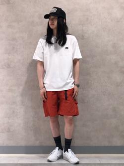 Lee 名古屋店のTakayaさんのLeeの【SALE】【Lee×GRAMICCI(グラミチ)】ペインター ショートパンツを使ったコーディネート