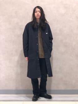 Lee 名古屋店のTakayaさんのLeeの【期間限定10%OFF】AMERICAN RIDERS 102 ブーツカット(ツイル)を使ったコーディネート