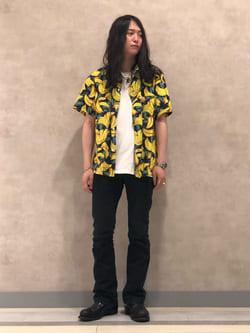 Lee 名古屋店のTakayaさんのLeeのAMERICAN RIDERS 102 ブーツカット(ツイル)を使ったコーディネート