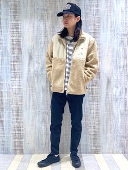 Lee 名古屋店のTakayaさんのLeeの【超快適ストレッチ】キャロット スキニーパンツを使ったコーディネート