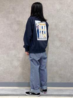 Lee 名古屋店のTakayaさんのLeeの【ユニセックス】DUNGAREES ペインターパンツを使ったコーディネート
