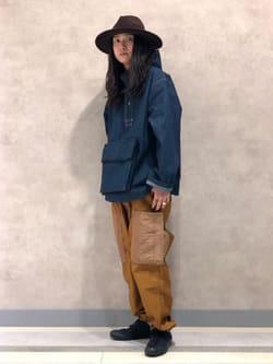 Lee 名古屋店のTakayaさんのLeeのミリタリー ビッグポケットパンツを使ったコーディネート