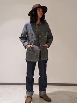 Lee 名古屋店のTakayaさんのLeeのARCHIVES 50S 91-J ロコジャケットを使ったコーディネート