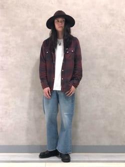 Lee 名古屋店のTakayaさんのLeeのSUPERSIZED ブーツカットを使ったコーディネート