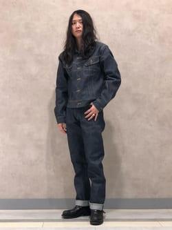 Lee 名古屋店のTakayaさんのLeeのARCHIVES RIDERS 101J 1950S デニムジャケットを使ったコーディネート