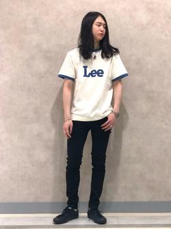 Lee 名古屋店のTakayaさんのLeeのリンガー 半袖Tシャツを使ったコーディネート