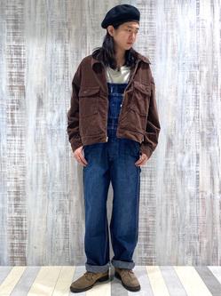 Lee 名古屋店のTakayaさんのLeeの【トップス15%OFFクーポン対象】【セットアップ対応】チェトパ ジャケットを使ったコーディネート