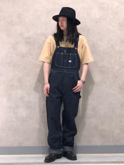 Lee 名古屋店のTakayaさんのLeeのポケット付き 半袖Tシャツを使ったコーディネート