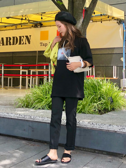 LINKS UMEDA店のhiroさんのEDWINの終了Miss EDWIN STEP MARK サコッシュを使ったコーディネート