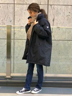 LINKS UMEDA店のhiroさんのEDWINのF.L.E モールスジャケット (二層防風)を使ったコーディネート