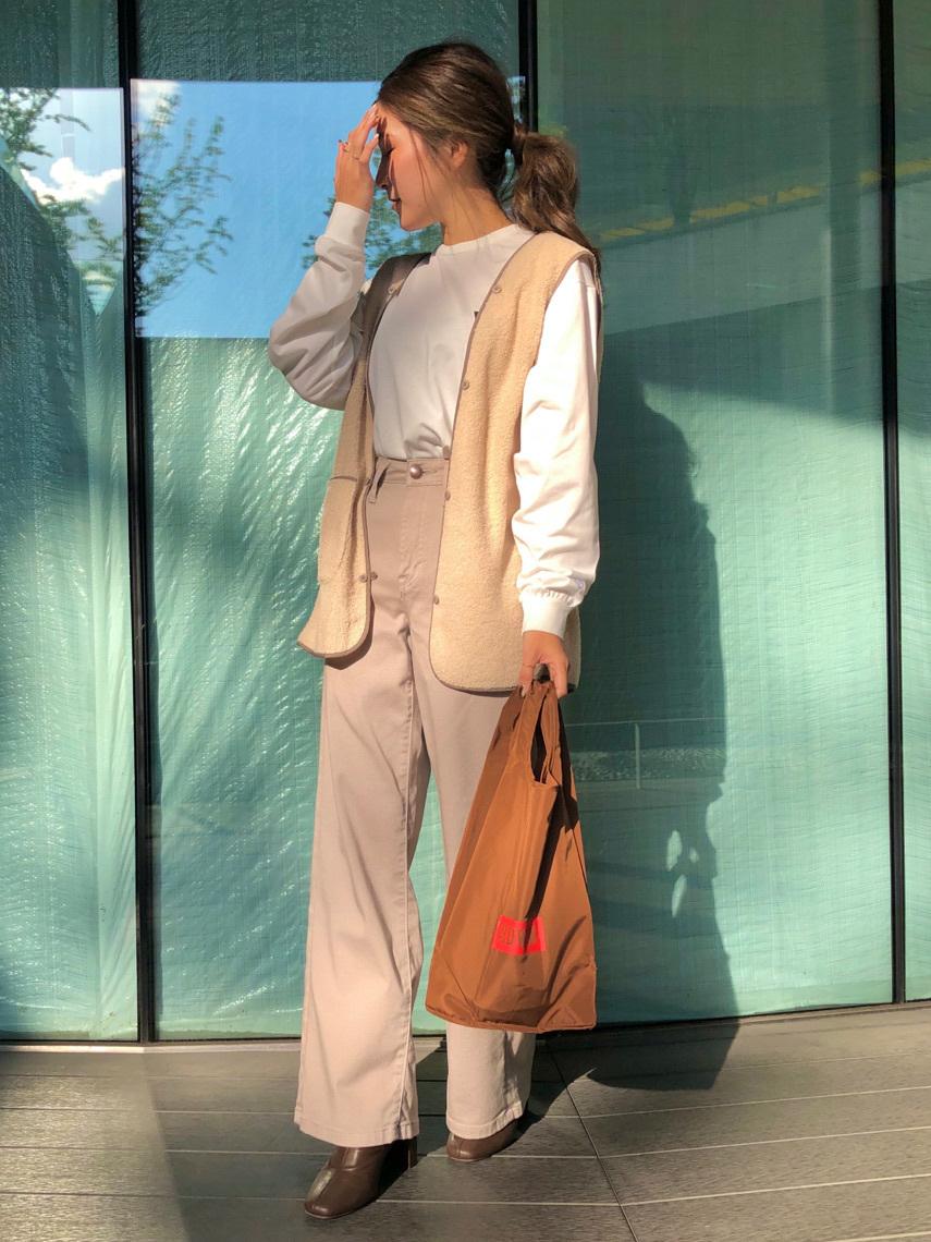 LINKS UMEDA店のhiroさんのEDWINのF.L.E ワンポイントロゴ ロングスリーブTシャツを使ったコーディネート