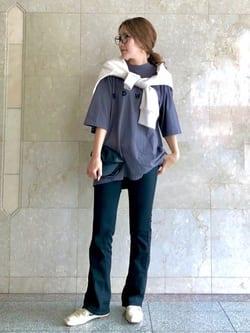 LINKS UMEDA店のhiroさんのEDWINのA KIND OF BLACK BIG FIT Tシャツを使ったコーディネート