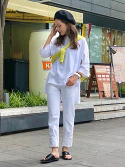 LINKS UMEDA店のhiroさんのEDWINの503 スリムテーパード 【レングス73cm】を使ったコーディネート