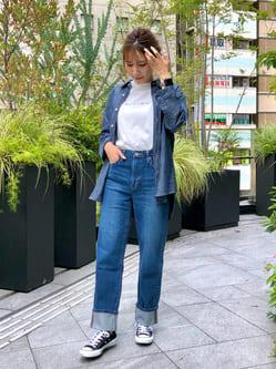 LINKS UMEDA店のhiroさんのEDWINの【SALE】七分袖 シャツを使ったコーディネート