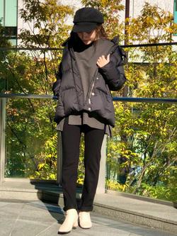 LINKS UMEDA店のhiroさんのEDWINの【試着対象】EDWIN LADIES ジャージーズ スリムストレート【スタンダードモデル】を使ったコーディネート