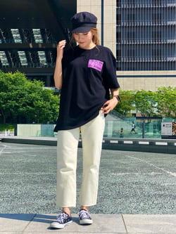 LINKS UMEDA店のhiroさんのEDWINの【SALE】【コンセプトショップ限定】EDWIN EUROPE PRO HEALER TEEを使ったコーディネート