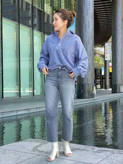 LINKS UMEDA店のhiroさんのEDWINのラウンドカラー プルオーバー シャツ 長袖を使ったコーディネート