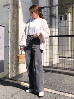 LINKS UMEDA店のhiroさんのSOMETHINGのSOMETHING LISA ワイドを使ったコーディネート