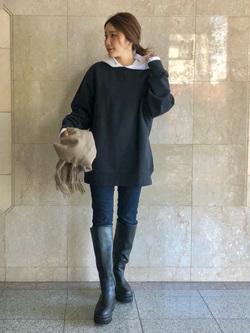 LINKS UMEDA店のhiroさんのEDWINの【直営店限定】クルーネックスウェット(ヴィンテージ仕様)を使ったコーディネート