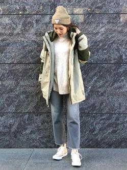 LINKS UMEDA店のhiroさんのの【Winter sale】アバランチ プリマロフトを使ったコーディネート