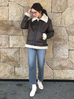 LINKS UMEDA店のhiroさんのSOMETHINGの【GISELe 10月号掲載】SOMETHING SPOON CROPを使ったコーディネート