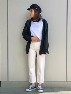LINKS UMEDA店のhiroさんのSOMETHINGの【GISELe 3月号掲載】SOMETHING SPOON CROPを使ったコーディネート