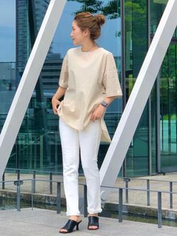 LINKS UMEDA店のhiroさんのC17のC17 バックレイヤードシャツを使ったコーディネート